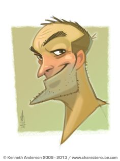 Character Design, Illustration and Concept Art by Kenneth Anderson: Doodle