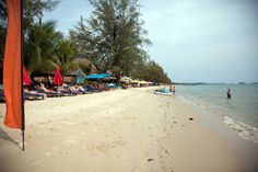 Otres Beach.