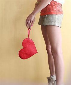 metallic heart clutch is here