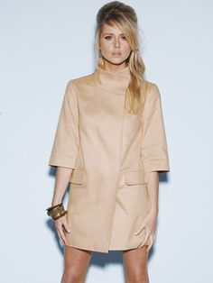 Dee V Smart cotton coat only £59