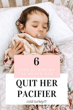 6 Tips on how to wean your toddler off the pacifier for good. Pacifier Weaning, 22 Month Old, Binky, 2 Year Olds, Baby Shark, Turkey, Cold, Tips, Advice