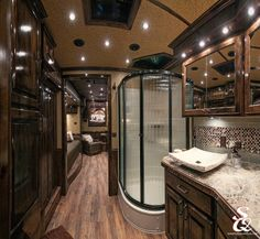 Great bathroom space in this living quarters.