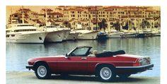 Jaguar XJ-S cabriolet - Automobiles Classiques juin / juillet 1986.