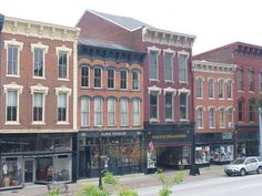 Madison's Golden Age Starts Today Madison Indiana, Retail Facade, Jefferson Street, Building Front, Apartment Guide, Small Town America, Shop Fronts, News Website, Urban Planning