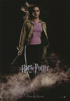 11x17 Inch Harry Potter and The Goblet of Fire poster features Hermione Granger holding her wand and surrounded by mist. Get it now at http://harrypottermovieposters.com/product/harry-potter-and-the-goblet-of-fire-movie-poster-style-z-11x17-inch-mini-poster/