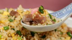 Chahan (Fried Rice Recipe) チャーハン(炒飯) 作り方 レシピ (This is how Chinese Fried Rice should be, not with that mixed veg added to it. This is the kind I grew up with! )
