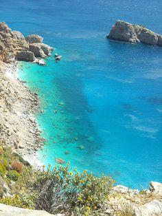 fyeahgreekislands: Amorgos, Greece. (by Dionysaki2009) Beautiful World, Beautiful Places, Karpathos, Heaven On Earth, Greek Islands, Far Away, Places To See, Tourism, Greece