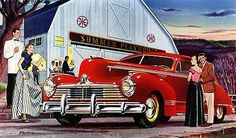 1947 Hudson - Promotional Advertising Poster