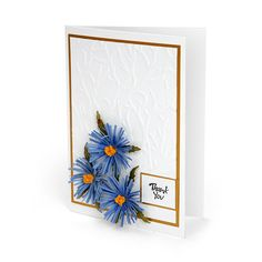 Sizzix.com - Thank You Aster Card