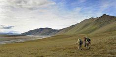 #Hiking above the Arctic Circle in Alaska