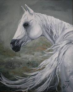 Moje marzenie, koń, malarstwo