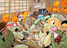 kanokiwa Ninja Turtles Art, Teenage Mutant Ninja Turtles, Teenage Turtles, Cartoon Junkie, Tmnt Comics, Tmnt 2012, Nickelodeon, Fan Art, Cartoon Shows