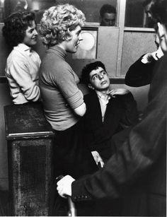 U.K. Teddy Boys & Girls, Seven Feathers Club, Roger Mayne, 1956 My Dad was a Teddy Boy :)