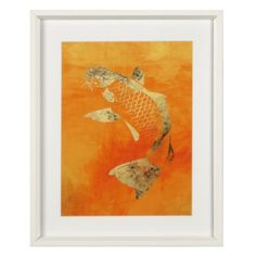 Koi from Z Gallerie. $99. Bathroom?