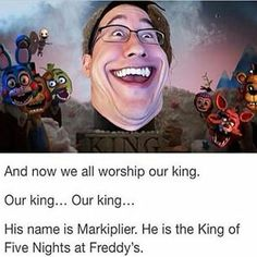 What…why…<<<dont question our king of Fnaf<<<we are perfectly fine ok. so take back your damn holy bibles, we dont need them ok