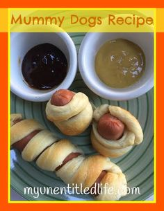 Mummy Dog Recipes I was so excited to make these for you this week. It was a fun and simple treat that your kids and family will love.