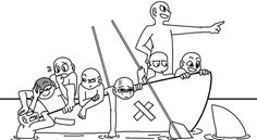 Draw The Squad: Boat-Trip-Gone-Wrong Edition
