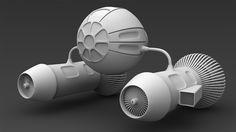Curso Maya 3D Modelando uma Nave, durante o curso o aluno vai aprender todo o processo de modelagem de uma nave estilo estilo star wars, durante a produção