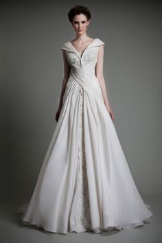 tony ward wedding dress spring 2013