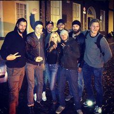 Gang's all here! #vikings