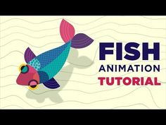 How to Animate Fish in After Effects Tutorial - Motion Graphics Tutorial - kalaso Motion Design, Vfx Tutorial, Animation Tutorial, Learn Animation, Animation Reference, Cgi, Adobe After Effects Tutorials, Maya, After Effect Tutorial