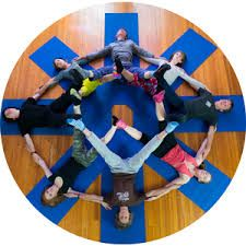 Image result for mandala group yoga circle