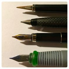 So happy I found my missing fountain pens - #analogueuniverse #journalandpen