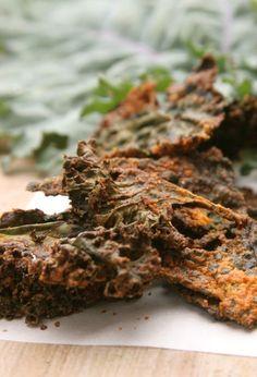 Tahini & Smoked Paprika Kale Chips