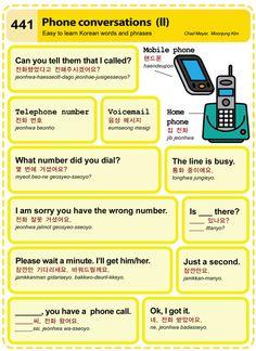 441 Phone conversations (II)