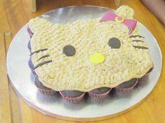 Hello Kitty pull apart cupcakes