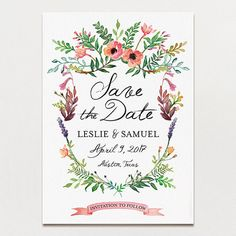 Spring Crest Save The Date