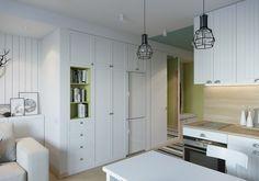 White indoor theme.Retro Work Lamp Table Lamps Design House Stockholm Edison Cage Pendant Light