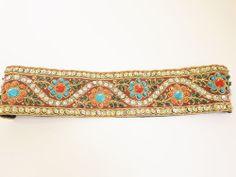 Headband Hair Jewelry,Rhinestones,Multi-color sequin,Prom,Evening Party,Stretch #Handmade
