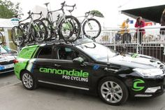 Cannondale Pro Cycling Team 2016 service course