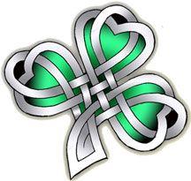 Meaningful Tattoos Ideas – Celtic Clover - Tattoo For Women Celtic Symbols, Celtic Art, Celtic Knots, Irish Symbols, Celtic Patterns, Celtic Designs, Body Art Tattoos, I Tattoo, Sleeve Tattoos