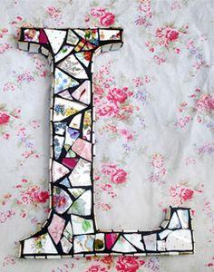 Anna Tilson: pretty mosaics from broken china — UPPERCASE