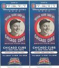 2 Chicago Cubs Colorado Rockies tickets 7/30 07/30/2014 Wednesday Wrigley Field