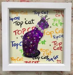 Excited to share the latest addition to my #etsy shop: Top Cat Siamese Picture