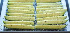 Fırında Peynirli Kabak Çubukları