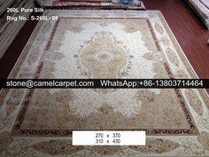 260L silk on silk caprpet #carpet#rug#persiancarpet#persianrug