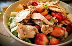 Healthy tasty salad.