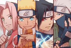 Naruto Team 7, Naruto Fan Art, Naruto Kakashi, Anime Naruto, Naruto Cute, Otaku Anime, Naruto Uzumaki Shippuden, Boruto, Shikamaru