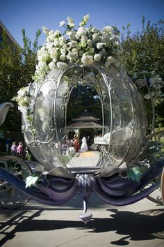 literally a fairytale wedding