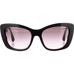 Pre-owned Miu Miu Tinted Cat-Eye Sunglasses ($245) ❤ liked on Polyvore featuring accessories, eyewear, sunglasses, black, miu miu, cateye sunglasses, tinted lenses glasses, miu miu sunglasses and cat eye sunglasses