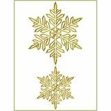 Snowflake Gold 2