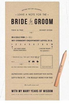I really want to have something like this at my wedding. Small, fun thing for people to do while they hang: