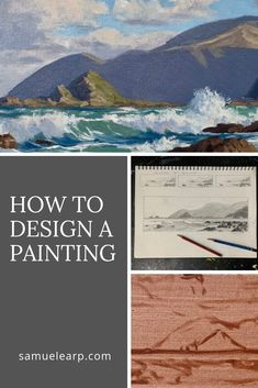 In this art tutorial I will show you an example of my painting process from sketching a composition design in my sketchbook to painting a color study prior to a final painting. I regard painting…More Oil Painting Tips, Acrylic Painting Techniques, Painting Process, Painting Lessons, Art Techniques, Art Lessons, Painting Videos, Painting Art, Watercolor Painting