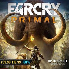 April #gamedeals Far Cry Primal Standard Edition -50% Off 39.99 19.99 http://ift.tt/2nPjlJb #ubisoft #pcgaming #pcgamer #gaming #siladeals