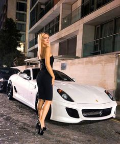 When The Night Falls, That's When The Magic Happens💫 Trucks And Girls, Car Girls, Sexy Cars, Hot Cars, Woman In Car, Super Sport Cars, Super Cars, Porsche Models, Sexy Legs And Heels