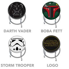 ThinkGeek :: Star Wars Bar Stools